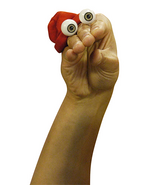 Oobi Kako Noggin Nick Jr TV Show Series Hand Puppet Nickelodeon Main 2