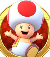 Toad in Mario Party Star Rush