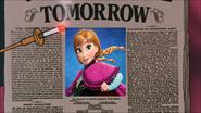 Anna's Jubilee Tomorrow