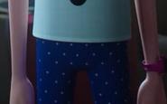 Chloe's hip