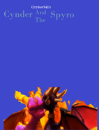 Cynder and the Spyro Poster