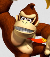 Donkey Kong in Mario Kart Double Dash