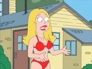 Francine Red bikini