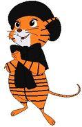 Miss Bianca as a Tiger