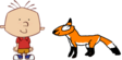 Stanley Griff meets Red Fox