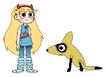 Star meets Bat-Eared Fox