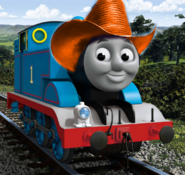Thomas with cowboy hat 1