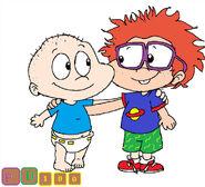 Tommy and chuckie by purpledino100 dck1ohv-pre