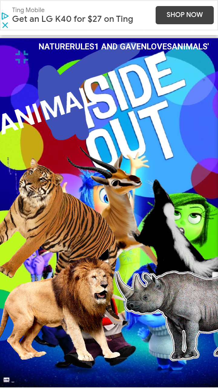 Animalside Out (NatureRules1 and GavenLovesAnimals' Style)