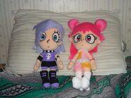 Ami and Yumi Plushies from AnimeUSA