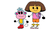 Dora and Boots in Some Other Style 2