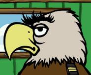 Eagle in hugo lek och lar 2 den magiska resan