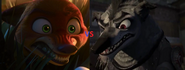 Nick Wilde vs Wolf Boss