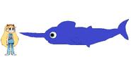 Star meets Blue Marlin