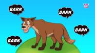 The Coyote Goes Bark