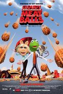 Cloudy with a Chance of Meatballs (Disney and Sega Style) Poster