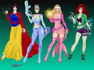 Disney Princess Superheroes 1