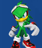 Jet the Hawk in Mario and Sonic at the Rio 2016 Olympic Games