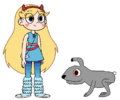 Star meets European Rabbit