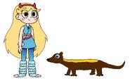 Star meets Tayra
