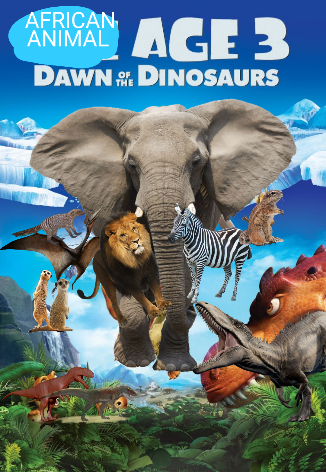 African Animal Age 3: Dawn of the Dinosaurs