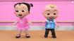 Cece and JJ dancing in Tap Dancing Song