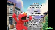 Elmo dances in the season 38-39 closing credits sequence