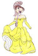 Maya Santos as Belle