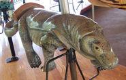 Nashville Zoo Carousel Komodo Dragon