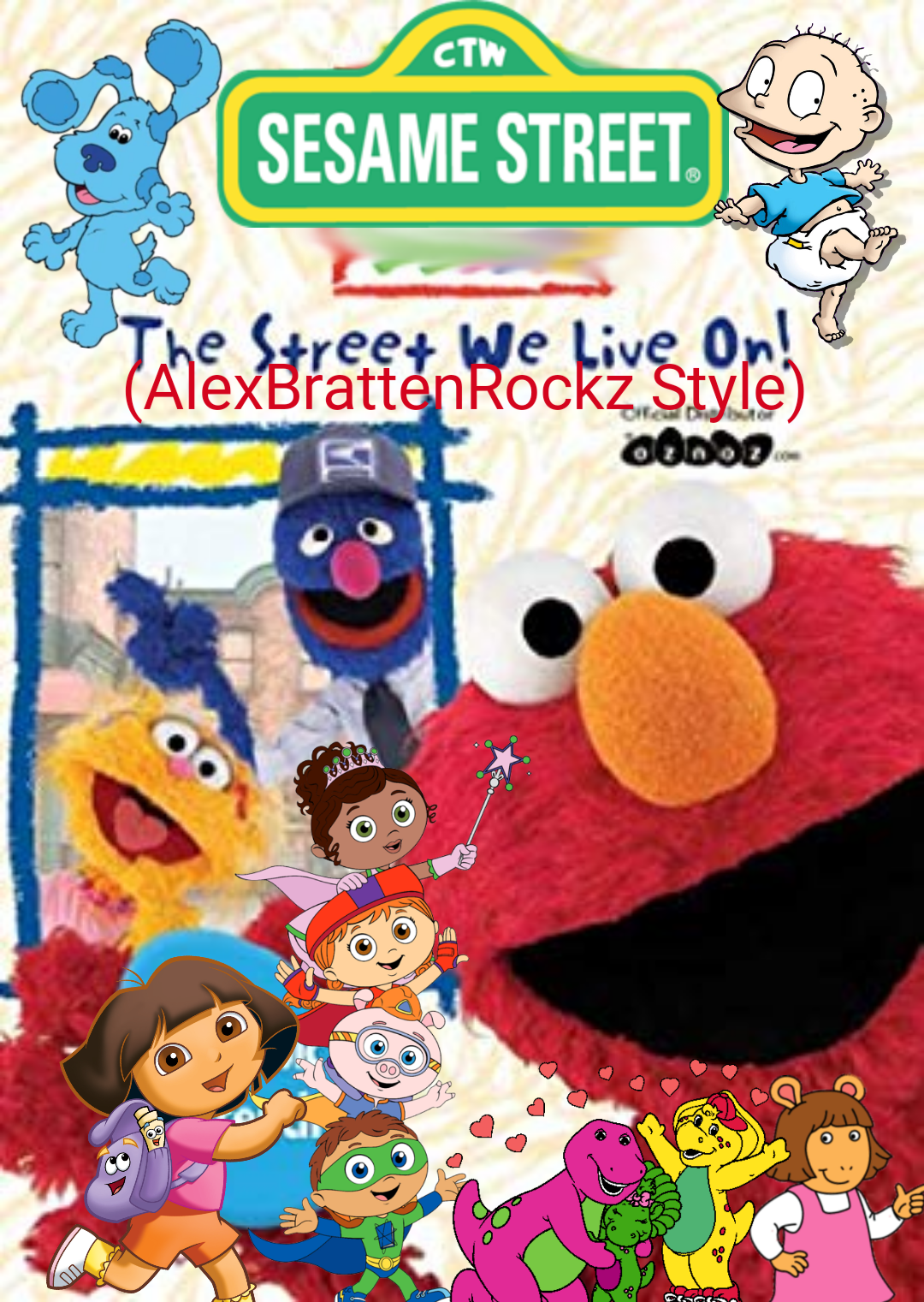 Sesame Street: The Street We Live On (AlexBrattenRockz Style)