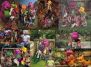 Barney & Friends Kids for Character BTS and Music Video