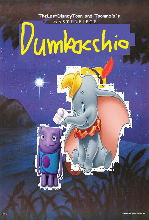 Dumbocchio (TheLastDisneyToon and Toonmbia Style)