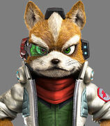 Fox McCloud in Star Fox Zero
