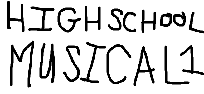 High School Musical (TheLastDisneyToon's Style)