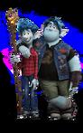 Ian Lightfoot and Barley Lightfoot