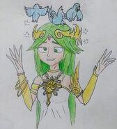 Lady Palutena dizzy birdies