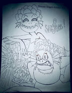 Luca and her mama by dream angel artista dels0ft-fullview
