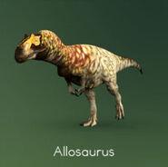 PK Allosaurus