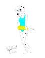 Perdita in a Swimsuit by Avionscreator
