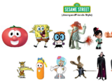 Sesame Street (JimmyandFriends Style)