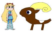 Star meets Mouflon