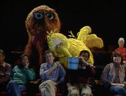 The Sesame Street cast at the movies in episode 2040