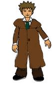 Brock as Sherlock Holmes Basil of Baker Street