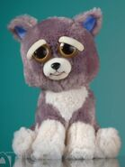 Dog in feisty pets sweet to scary stuffed animals