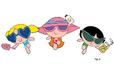 PPG Alternate Summertime Wear in the comics