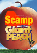 Scamp and the Giant Peach Poster