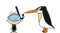 Stanley Griff meets Emperor Penguin