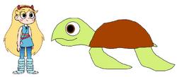 Star meets Loggerhead Sea Turtle.png