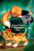 The dalmatian and the lion poster