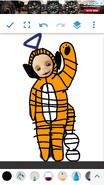 Tiny Winky as Tigger